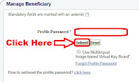 how to add beneficiary in sbi online personal banking