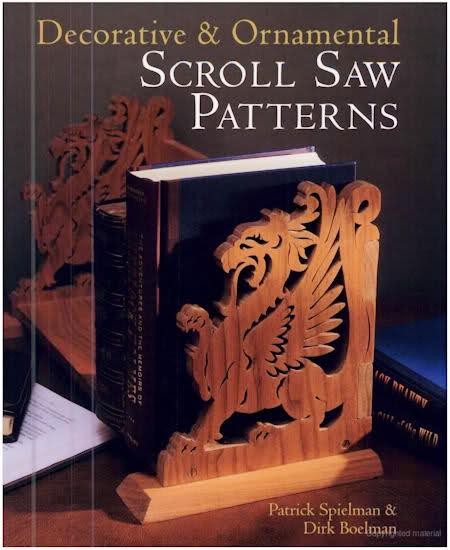 Decorative Ornamental Scroll Saw Patterns free pdf - cnc world
