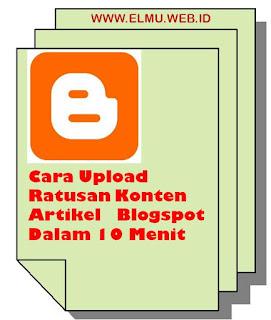 CARA MENGKLONING ARTIKEL DARI BLOGSPOT  LAIN DENGAN CEPAT www.elmu.web.id