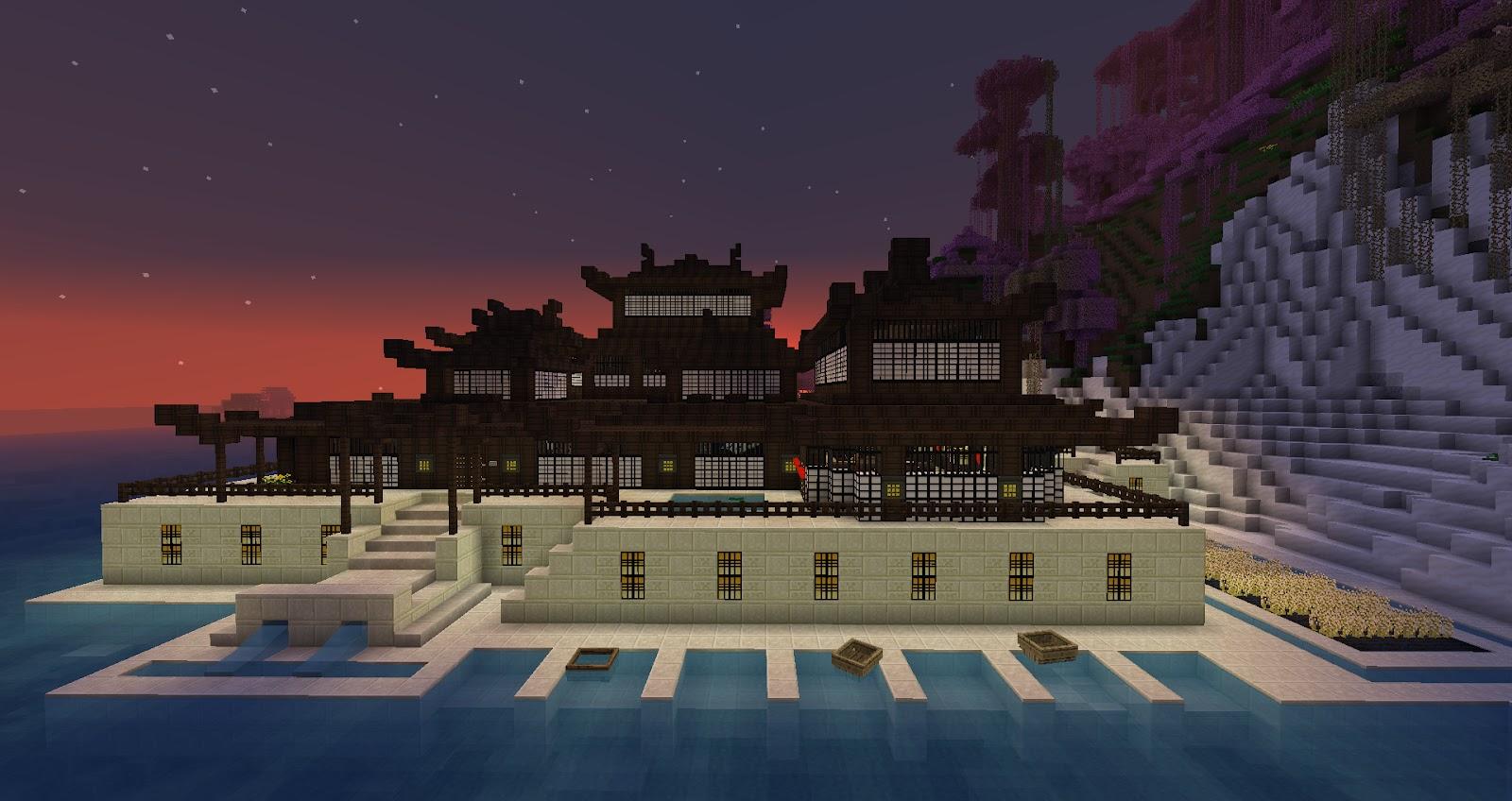 My Minecraft Constructions: Minecraft Chinese Construction - Construction Minecraft