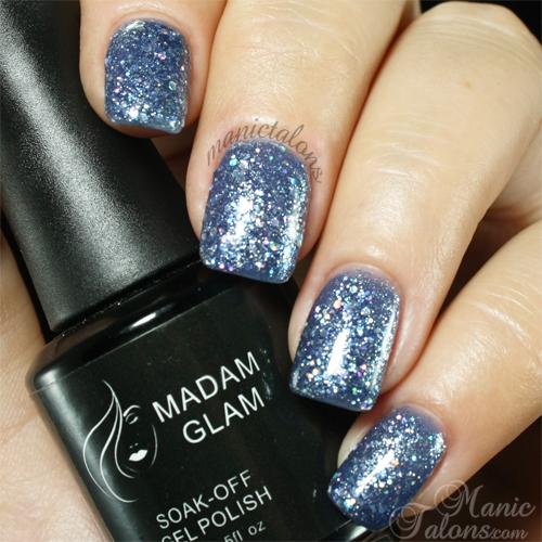 Madam Glam Gel Polish 128 Dream Diamond Swatch