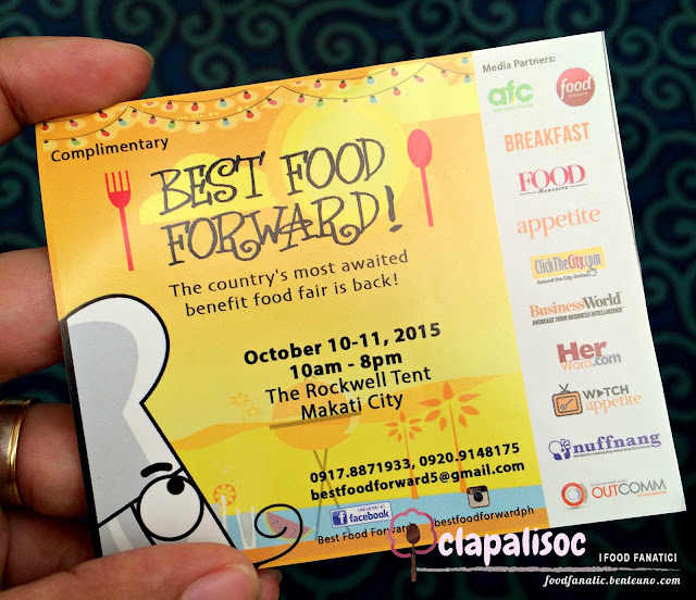 Best Food Forward 2015 Rockwell Tent