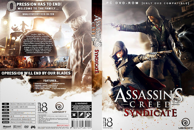 Capa Assassins Creed Syndicate PC