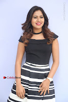 Actress Mi Rathod Pos Black Short Dress at Howrah Bridge Movie Press Meet  0079.JPG