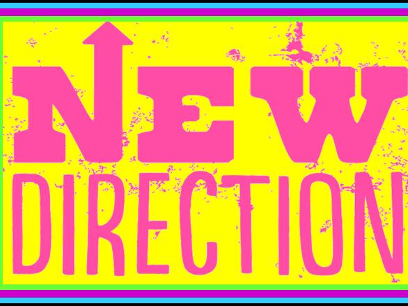Refreshing NEW direction!