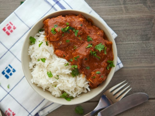 Easy Healthier Crock-Pot Chicken Mole