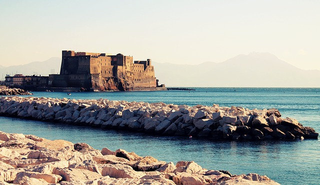 Castel dell'Ovo, Castel dell'Ovo Naples, Naples, Tourist attractions, Tourism, Italy, Sea Castle, Beaches,