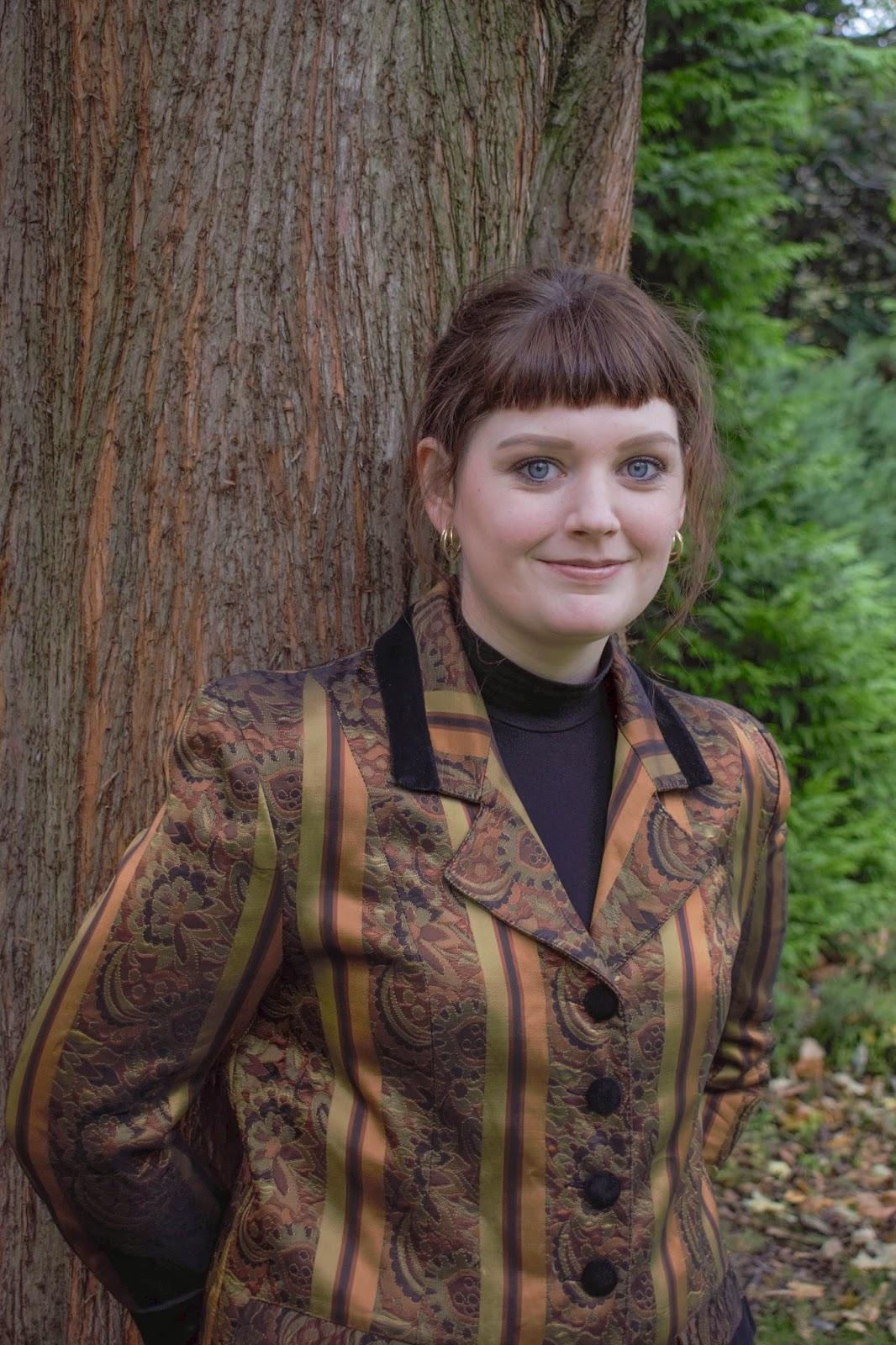 Portrait of Scottish lifestyle blogger Lauren Aitchison from The Devil Wears Tartan