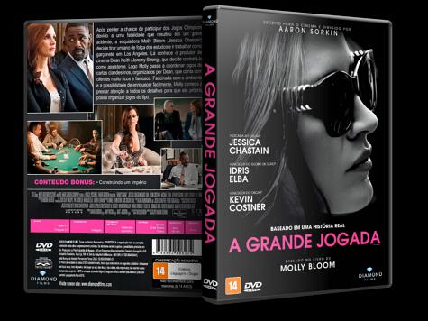 Capa DVD A Grande Jogada [Custom]
