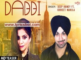 Dabbi Lyrics - Deep Money
