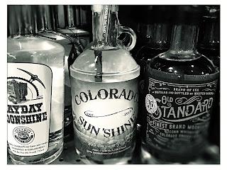 whiskey chick bottles Colorado white whiskey moonshine