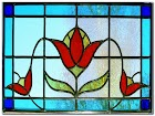 Long Stained GLASS WINDOWS