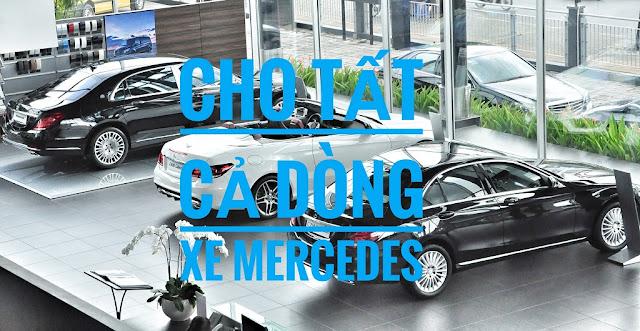 Mercedes Hà Nội-City Showroom áp dụng Chương trình khuyến mãi trên tất cả các dòng xe Mercedes