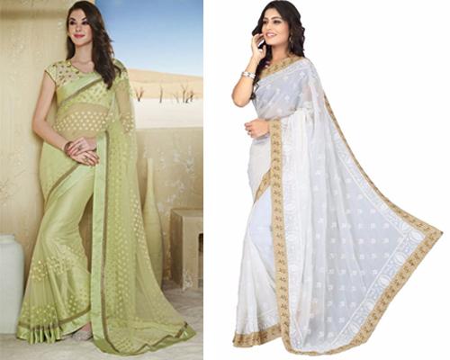 model baju kain sari india