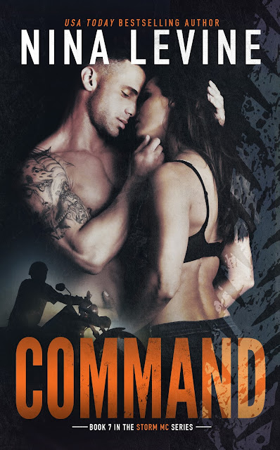 COVER REVEAL – Command by Nina Levine