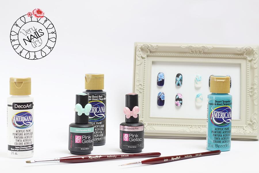 pintura-acrilica-pinceles-unas