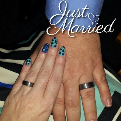 china glaze aquadelic zoya sia leopard wedding nails