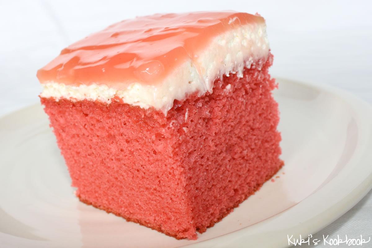 Guava Jelly Cake Recipe: Family Friends Food: Guava Cake