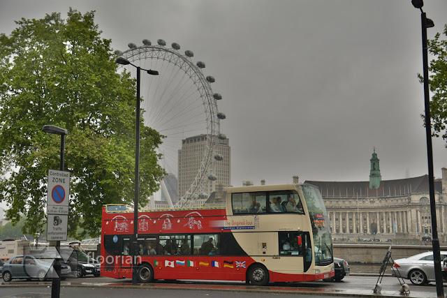 London Eye - największa atrakcja turystyczna Londynu
