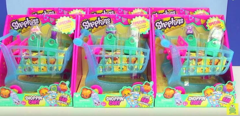 Carts Toy Children Shopping