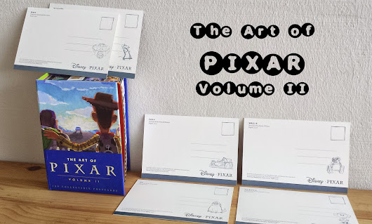 The Art of Pixar (Volume II): 100 Collectible Postcards | Cookietales (dieneryn)