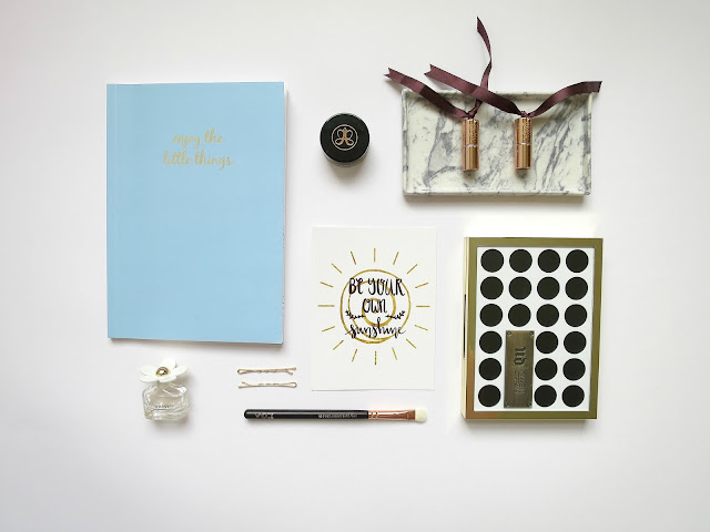 Dainty Daisy Designs Prints Sunshine Donut Leave Giveaway Prize Win Flatlay