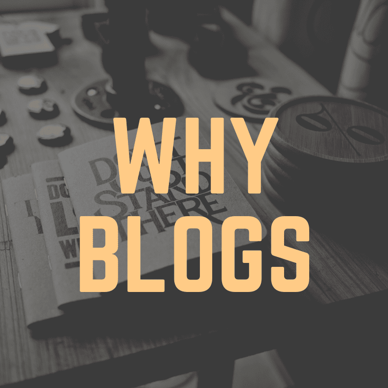 Why people do Blogs and the Benefits of Blogging?