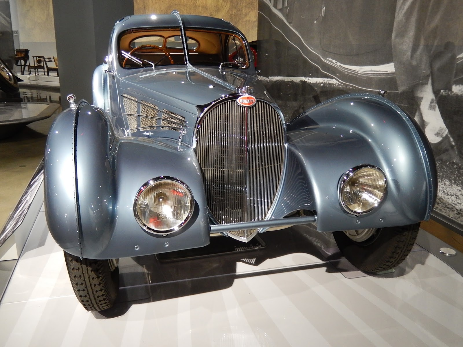 At Least One Atlantic    Perhaps Ralphu0027s    Had A Front Bumper For A While.  The Grille Is Not A Classic Bugatti Horseshoe: Other Type 57s Also Featured  The ...