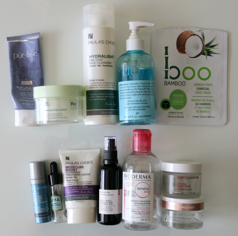 Summer 2017 Empties Skincare