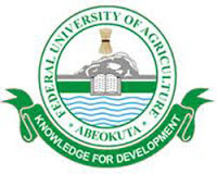 FUNAAB 2017/2018 Postgraduate Admission Application Form