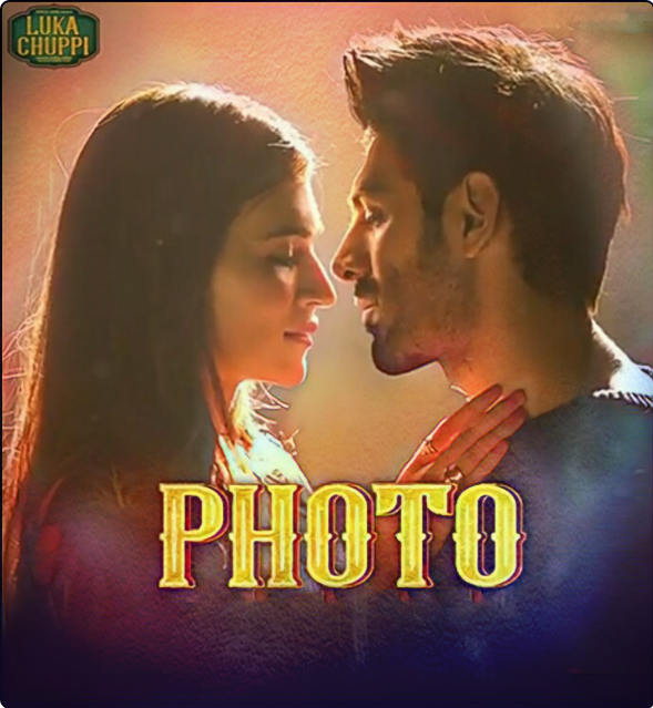 Luka Chuppi Song photo Lyrics , Photo Lyrics Lukka Chippi ,