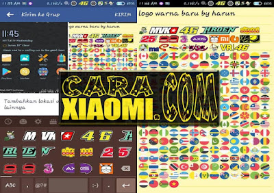 Font Unicode Berwarna Update Terbaru (NotoColorEmoji.ttf) For Carrier Logo MIUI