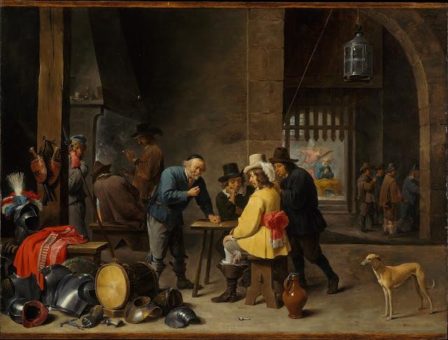 David Teniers el joven - Cuerpo de guardia y liberación de San Pedro - ca. 1645-47