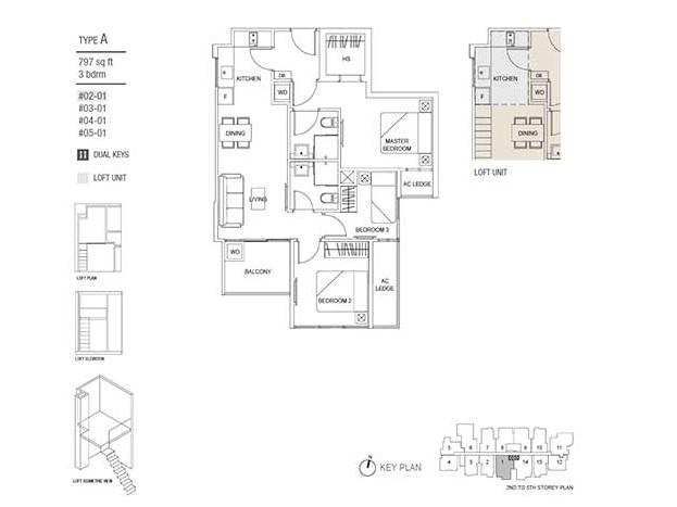 Hills TwoOne Floor Plan