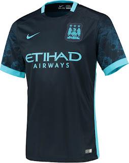 gambar detail bocoran jersey musim depan Jersey away Manchester City terbaru musim depan 2015/2016 original