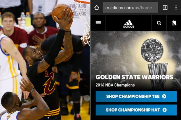El agile marketing de adidas le deja en evidencia en la NBA