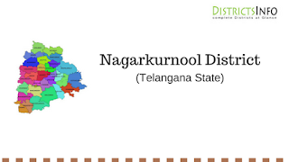 Nagarkurnool District  with Mandals