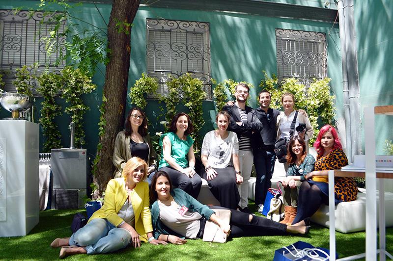 Decorar en familia_Desayuno blogger con Villeroy & Boch en Casa Decor 2016_1