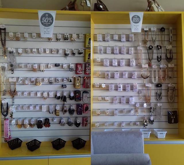 Promoção de brincos e pulseiras na JS Modas em Riacho dos Cavalos