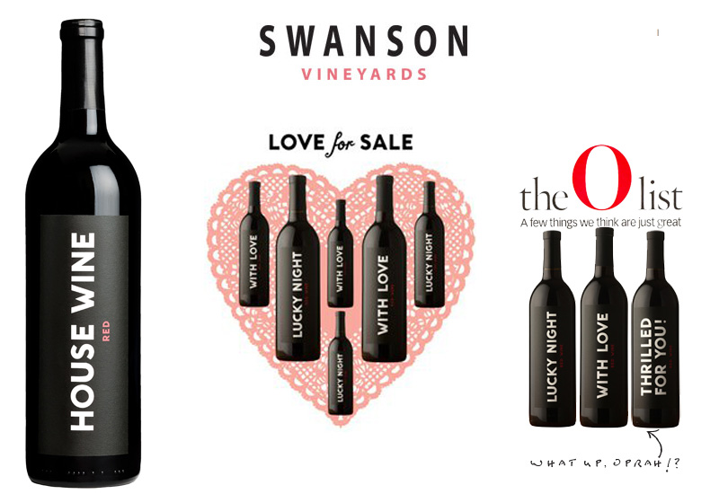 Swanson Vineyards Modern House Wines Were Even Recommended By Oprah In Her O Magazine