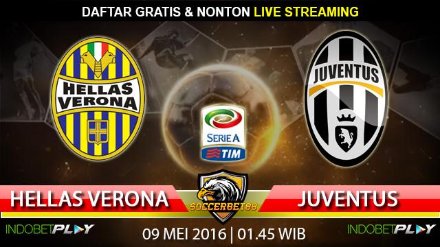 Prediksi Hellas Verona vs Juventus 09 Mei 2016 (Liga Italia)