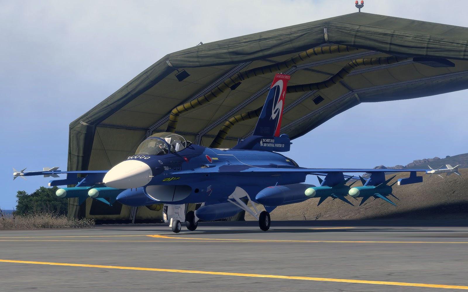 弱者の日記^^Arma 3 用 F-2A Viper Zero アドオンに第 3 飛行隊の戦技競技会スキンが追加