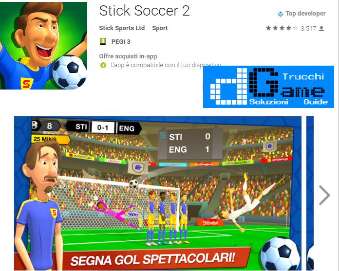 Trucchi  Stick Soccer 2 Mod Apk Android v1.0.7