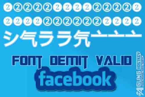 kumpulan font unik demit nama facebook valid, kumpulan font unik facebook, kumpulan font unik fb