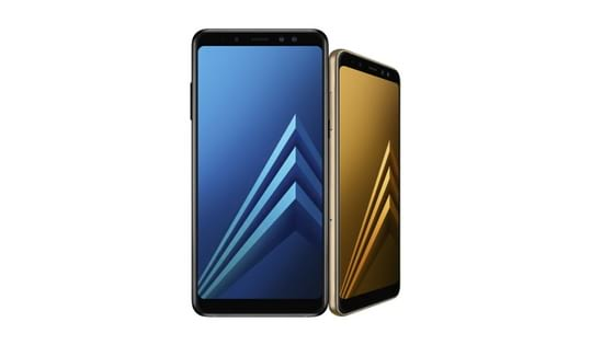 Samsung Galaxy A8 and Galaxy A8+