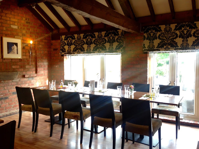 Inside Boboli Italian restaurant