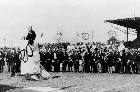 Jocs Olímpics Paris 1924, inauguració