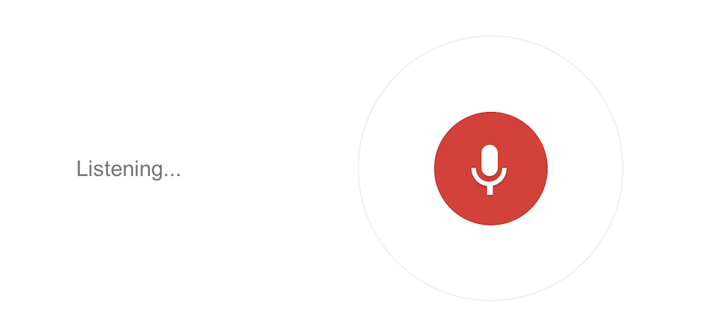 Tracing your Google Voice Search History