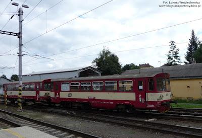 Pociąg osobowy z Bruntala, České dráhy