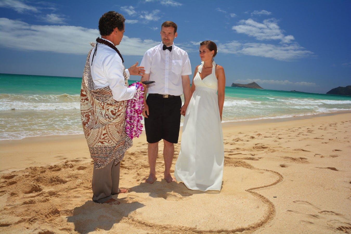 Waimanalo Beach Wedding